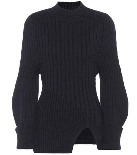 Jacquemus sweater wool sweater wool black