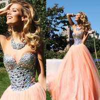 Sparkle wedding dress; organza wedding dress; sweetheart wedding dress; royal wedding dress