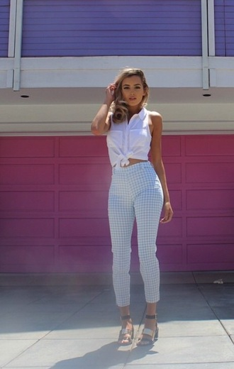 jeans high waisted jeans high waisted pants checkered jeans checkered pants pants high waisted