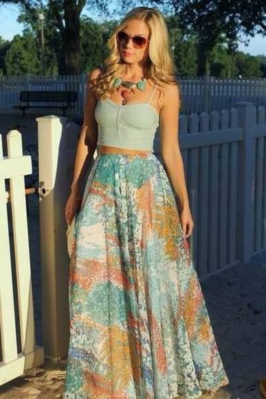 skirt floral skirt maxi sexy white dress tank top blouse crop tops cute corset tops