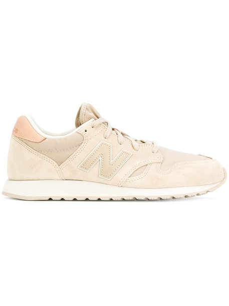 New Balance women sneakers nude suede shoes