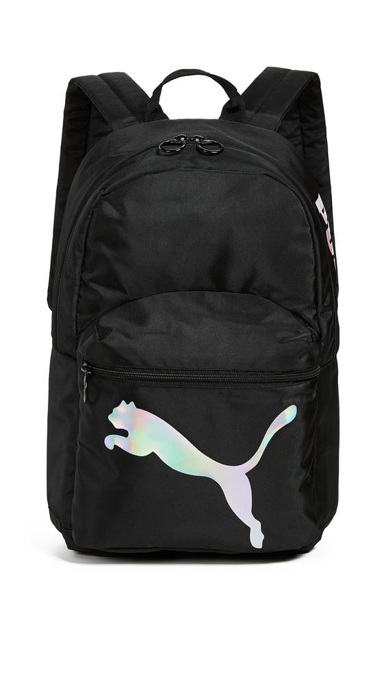 PUMA Essential Backpack in black / white