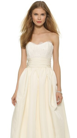 bustier strapless beaded lace top