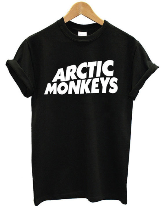 Arctic monkeys shirt the arctic monkeys black 02