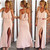 Just A Hint Of Pink Maxi – Dream Closet Couture
