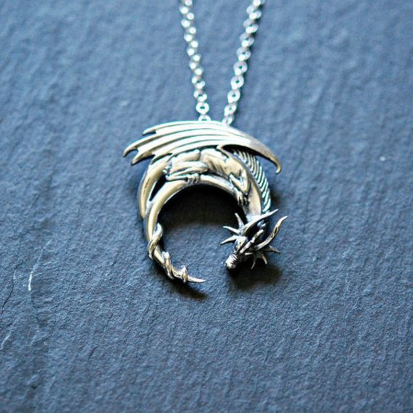 jewels dragons dragonfly necklace
