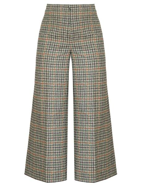 Isabel Marant cropped high green pants