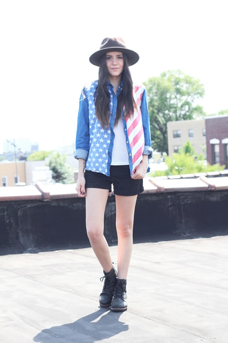 dress like jess blogger shirt tank top top shorts hat shoes jewels