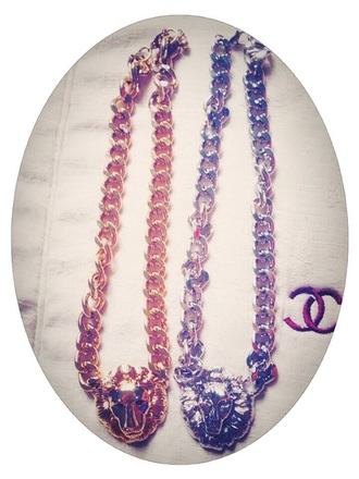 jewels gold chain noun lions