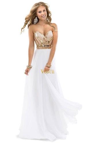 dress shiny long prom dres
