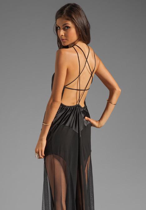 UNIF Ritual Pentagram Back Dress in Black at Revolve Clothing - Free Shipping!