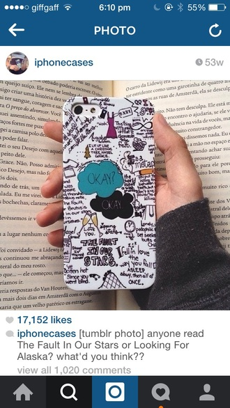 phone cover the fault in our stars