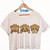 See No Evil Crop Shirt