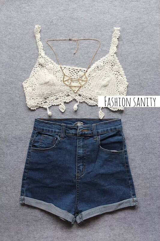 Crochet Bra Top – Fashion Sanity