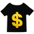ROMWE | Dollar Sign Print T-shirt, The Latest Street Fashion