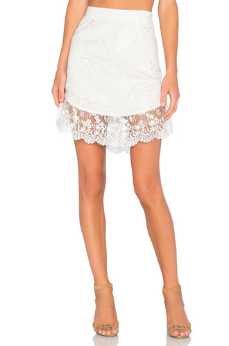 skirt summer white