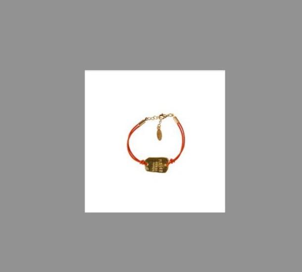 bracelets leather rope horoscope sagittaius orange jewels yellow jewels