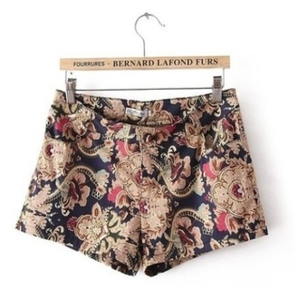shorts fashion with authenticity authentic vintage paisley paisley shorts paisley print