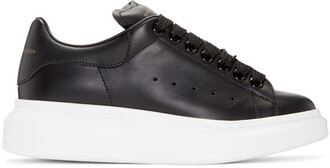 oversized sneakers black shoes