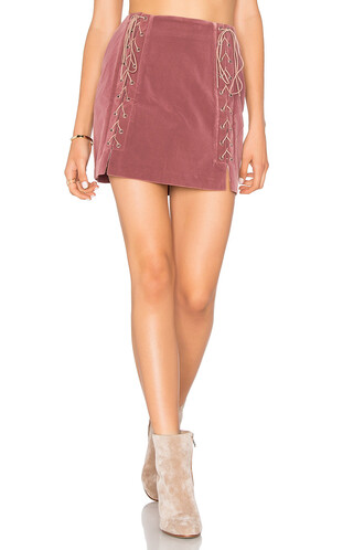 skirt lace up skirt lace