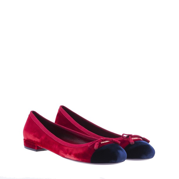 velvet cherry blue shoes