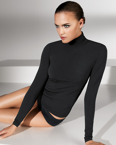Wolford: Luxe Pullover at Nancy Meyer