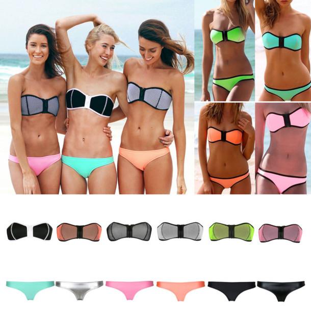 bb6aba453c714 swimwear bikini triangl bikini top bikini bottoms bikini push up swimwear  push up bikini pushup bikini