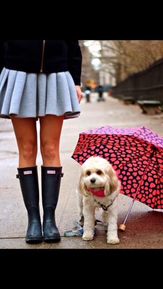 skirt grey skirt gray skirt gray pleated skirt winter skirt winter outfits hunter boots