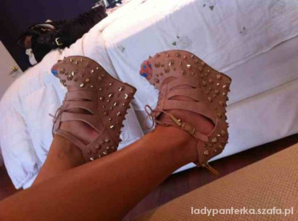 shoes posh wedges