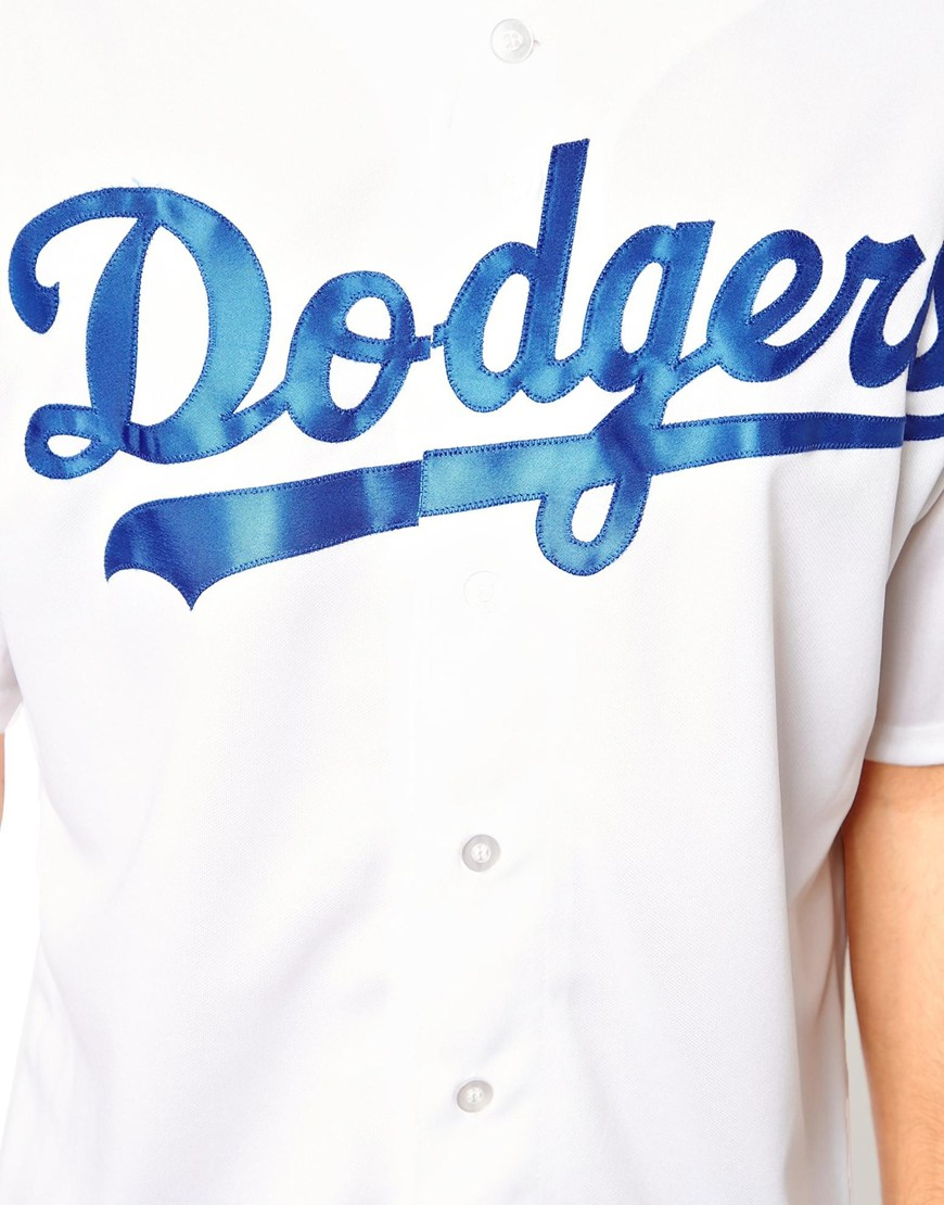 Majestic LA Dodgers Baseball Jersey at asos.com