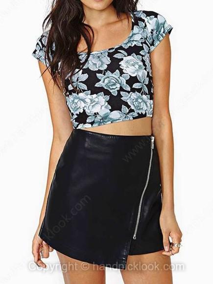 asymmetrical skirt black black skirt faux leather faux leather skirt asymmetrical skirt black faux leather black asymmetrical skirt zipper