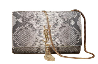 bag ysl shoulder bag ysl clutch snake leather python print 2014buybags.com