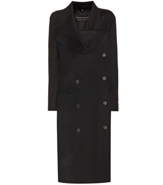 coat wool coat wool black