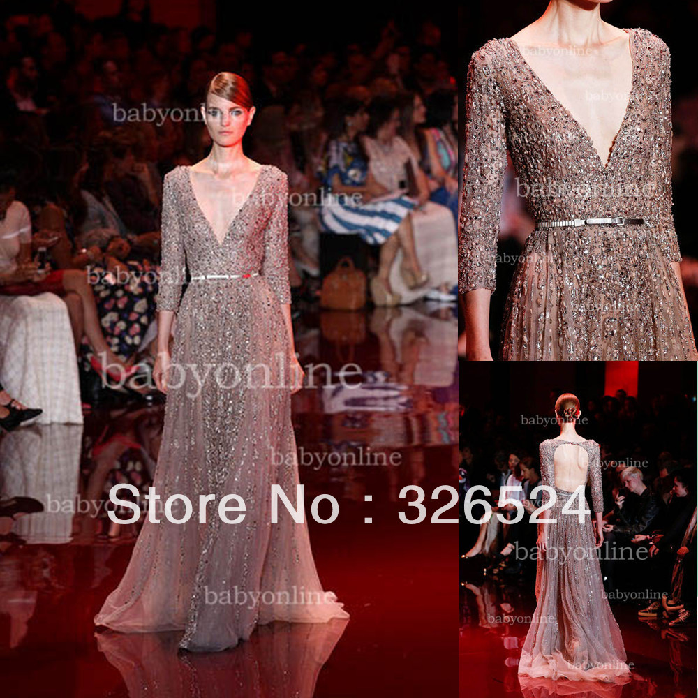 Aliexpress.com : Buy New fashion elie saab evening dress Long ...
