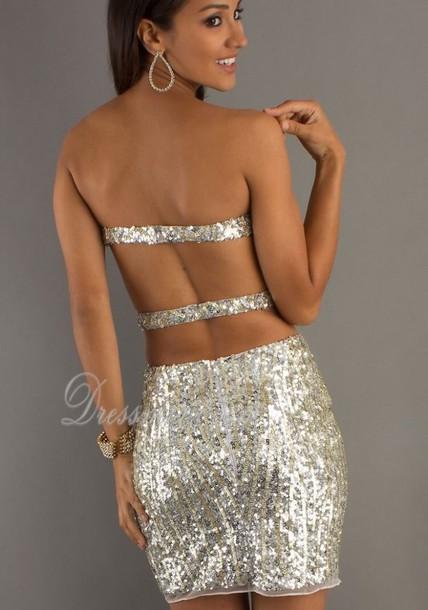 dress short tight open back