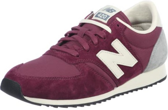 shoes bordeaux purple red shooes new balance