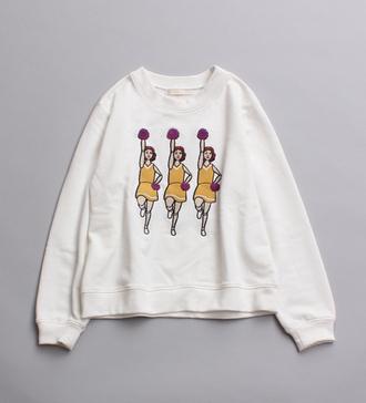 shirt jumper sweatshirt cheerleading vintage pullover