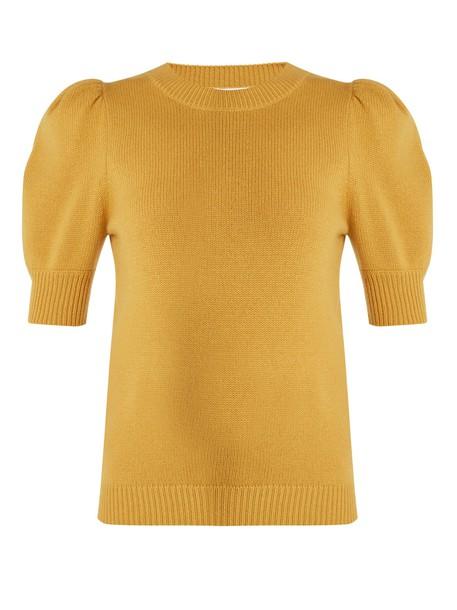 Chloe sweater yellow