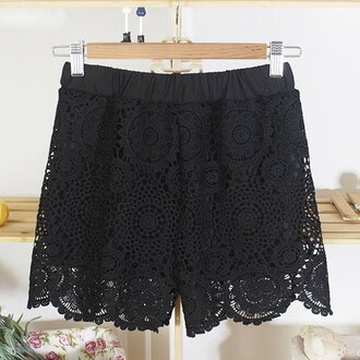 shorts girly summer spring classy grunge vogue fashion casual party sun short lace shorts black shorts bottoms summer shorts spring shorts streetstyle stripes streetwear beach beautiful