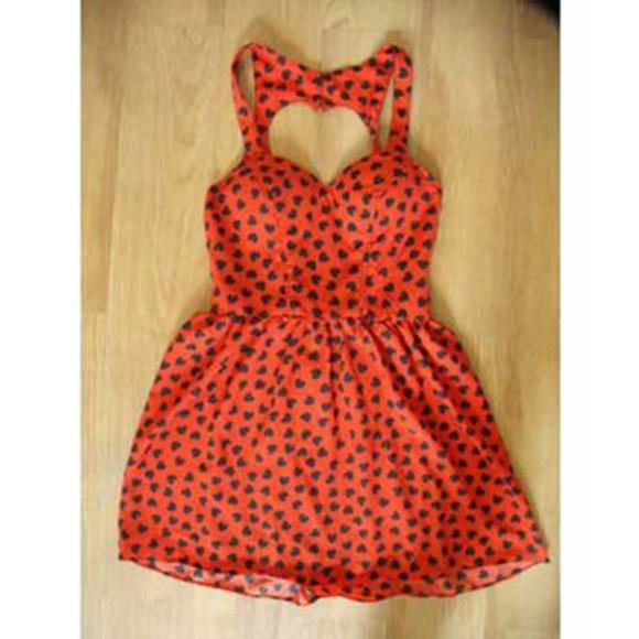 heart dess red dress bustier