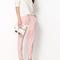 Kdq10 women drawstring elastic waist chiffon harem pants wf 4156 | ebay