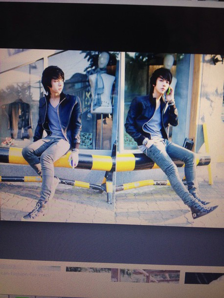 jacket ulzzang ulzzang boy korean fashion swag tumblr kpop leather style korean fashion korean style shoes