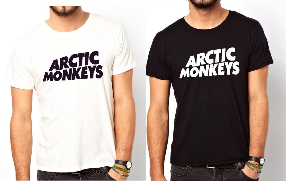 ARCTIC MONKEYS T SHIRT MENS ALL SIZES !!!! | eBay