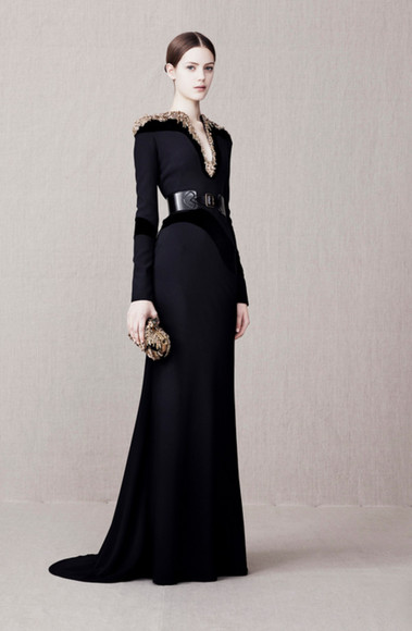 dress fashion lookbook alexander mcqueen