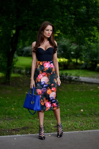 my silk fairytale skirt shoes bag dress floral dress summer dress top bodysuit