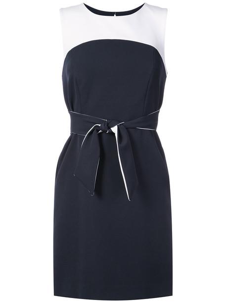MILLY dress style women spandex blue