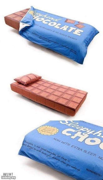 home accessory bedding chocolate food candy