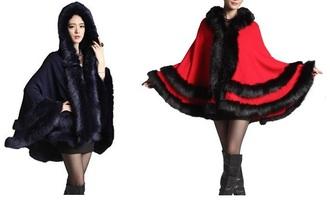 coat fur coat furry short coat fur trimmed hood fur trim black jacket