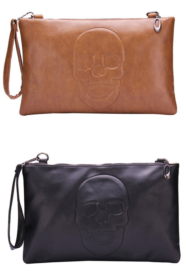 Skull Silhouette Purse | Outfit Made