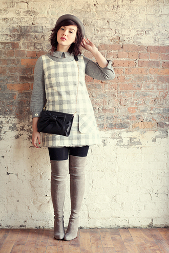 keiko lynn hat dress sweater shoes